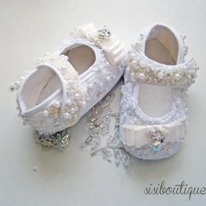 Botosei botez de lux White Princess
