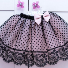 Fustita tutu 'Pink and Black'