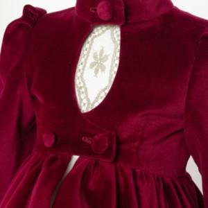Palton fete lux Royal Velvet
