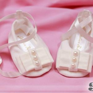 Pantofi bebelusi White Lady