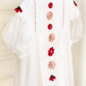 Rochie fete lux traditional Garden Flowers