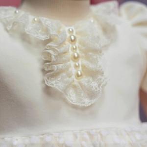 Rochita catifea Little White Rose