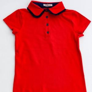 Tricou scoala rosu fete Daciana