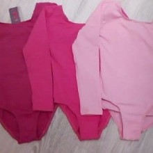 Body balet fete roz