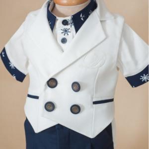 Costum botez baieti Hello Sailor