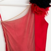 Rochie fete Red Rose