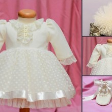 Set botez Little White Rose