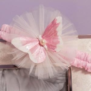 Set botez Pink Butterfly