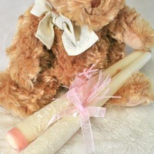 Trusou botez Cupcake- lumanari pentru preot