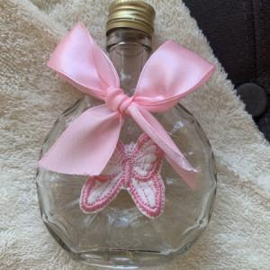 Trusou botez Pink Butterfly