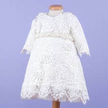 Rochie botez Lace and Flowers