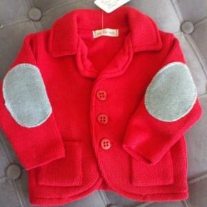 Sacou Baieti tricotat A3 botez