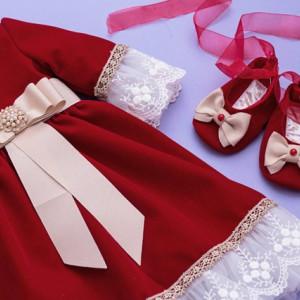 Set botez fete Crimson Jewel