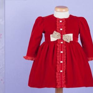 Set botez My Ruby Red Dress