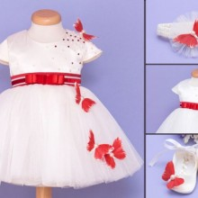 Set botez Red Butterfly