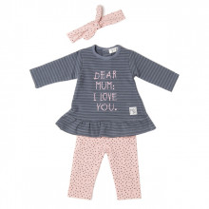 Set rochie Babybol 20832