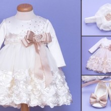 Set botez Snow Rose