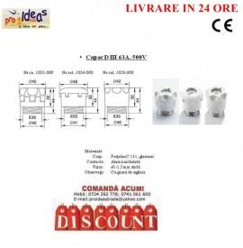 Poze Capac soclu D III 63A 500V, Capac soclu siguranta fuzibila 35-63A, Capac D3 63A, 500V, Capac soclu LF63, Capac soclu LF63A, Capac DIII, Capac siguranta fuzibila 35-63A, Capac D3, Capac D3 ptr patron fuzibil ceramic