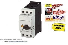 Poze PKZM4-40 Intrerupator protectie pt.motor, PKZM4-40 intrerupator protectie motor 40A, Putere 18,5 KW, reglaj curent disjunctor 32A .. 40A, Producator EATON, cod 222354