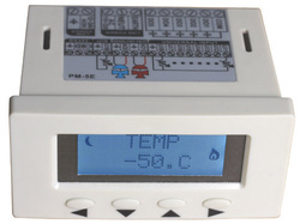 Termostat cu microprocesor TEMCO CONTROLS PM-5E-C, 5 iesiri digitale, 2 iesiri analogice, interfata RS485