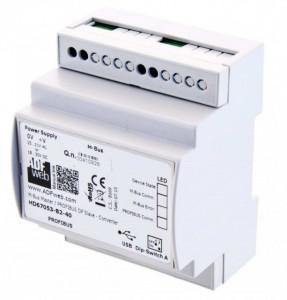 Data logger ADFWEB HD67324-B2, Ethernet, RS485, memorie 4Gb