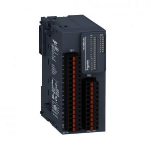 Modul extensie SCHNEIDER ELECTRIC TM3DM24RG, 16DI/8DO, iesiri releu NO, bloc terminal detasabil