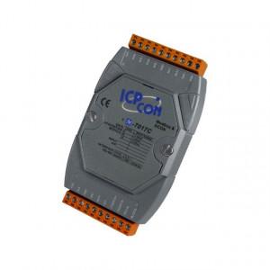 Modul I/O ICPDAS M-7017C-G CR, 8AI diferentiale, RS485, Modbus RTU