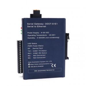 Convertor de protocol ODOT AUTOMATION SYSTEM S1E1, MODBUS RTU la MODBUS TCP, 1 port serial RS232/RS485/RS42, 1 port ETHERNET, indicator led pentru status funcționare