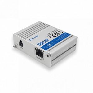 Modem GSM 4G TELTONIKA TRB140, Ethernet, 2 intrari/iesiri digitale configurabile, micro USB, carcasa metalica