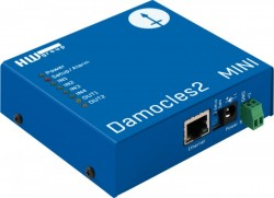 Modul I/O HW GROUP Damocles2 MINI, 4DI/2 DO releu, Ethernet, web API, Modbus TCP