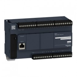 PLC SCHNEIDER ELECTRIC TM221C40R, 24DI/16DO, iesiri releu, port serial (RJ45), alimentare 100 - 240 VAC