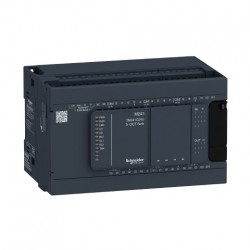 PLC SCHNEIDER ELECTRIC TM241C24U, 14DI/10DO, iesiri tranzistor, port serial (RJ45), alimentare 24 VDC