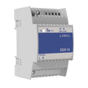 Sursa de alimentare LUMEL ZS20-1A, iesire 24V DC, 2.5A, 60W