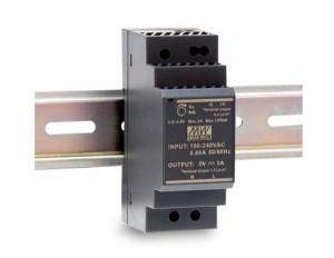 Sursa de alimentare MEAN WELL HDR-30-5, iesire 5V, 3A, 15W, montaj pe sina DIN