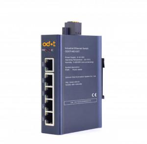Switch industrial ODOT-MS105G, fără managment, 5 porturi Ethernet 10/100/1000Mbps, alimentare 9 - 36V DC
