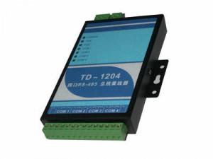 Hub RS485, HEXIN TD-1204, 4 iesiri RS485 si 1 iesire RS485/RS232, canale izolate