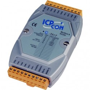 Modul I/O ICPDAS M-7017-G CR, 8 AI diferentiale, RS485, RTU