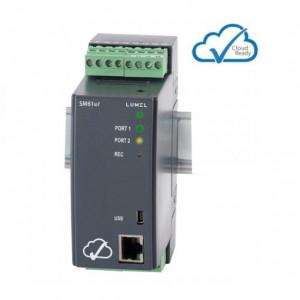 Data logger LUMEL SM61IoT, MODBUS, MQTT, memorie 1GB, 2 iesiri in releu