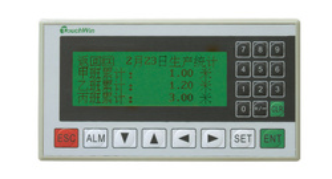 "HMI XINJE OP320-A, afisaj LCD 3.7"", monocrom, 20 taste, RS232/RS422"