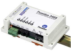 Modul monitorizare IP temperatura/umiditate, 4 intrari digitale, 2 iesiri releu - Poseidon 3468