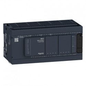 PLC SCHNEIDER ELECTRIC TM241C40R, 24DI/16DO, iesiri tranzistor si releu, port serial (RJ45), alimentare 100-240 VAC