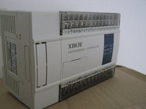 PLC XINJE XC3-24RT-C 14DI/10DO, tranzistor, releu, alimentare 24VDC