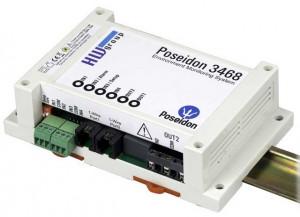 Poseidon 3468 - Modul monitorizare IP temperatura/umiditate, 4 intrari digitale, 2 iesiri releu