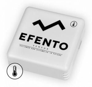 Senzor temperatură wireless EFENTO BLE-T, Bluetooth, data logger memorie 60000 de înregistrări, alimentat cu baterii