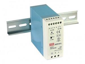 Sursa de alimentare MEAN WELL MDR-60-12, iesire 12V, 5A, 60W, montaj pe sina DIN