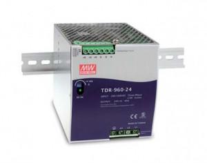 Sursa de alimentare MEAN WELL TDR-960-48, intrare trifazata sau monofazata, iesire 48V, 20A, 960W