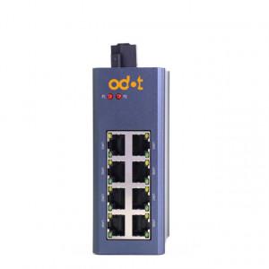 Switch industrial ODOT-MS108G, fără managment, 8 porturi Ethernet 10/100/1000Mbps, alimentare 9 - 36V DC