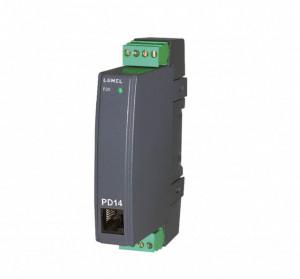 Traductor LUMEL P20, intrare sondă PT100, domeniu măsurare temperatură -200 - 200°C, ieșire 4 - 20 mA, alimentare 85-253 VAC/DC
