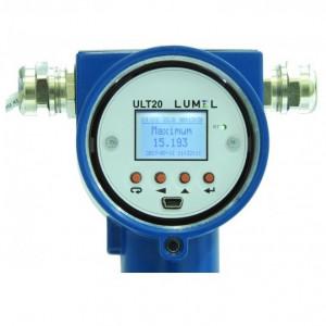 Traductor măsurare nilvel ultrasonic LUMEL ULT20 00, nivel maxim măsurat 8m, MODBUS RTU, 2 ieșiri în releu, RS485