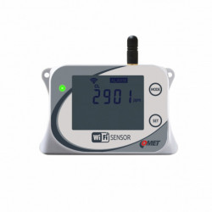Traductor WiFi COMET SYSTEM W5714, masurare CO2, afisaj LCD, senzor incorporat